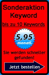 Sonderaktion 10 Keywords