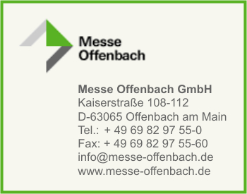 Messe Offenbach a. Main